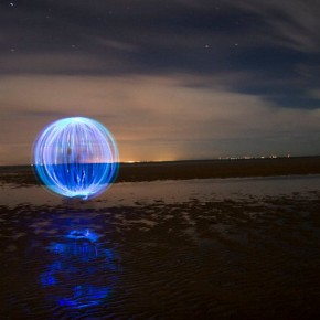 Old Hunstanton Beach Orbs